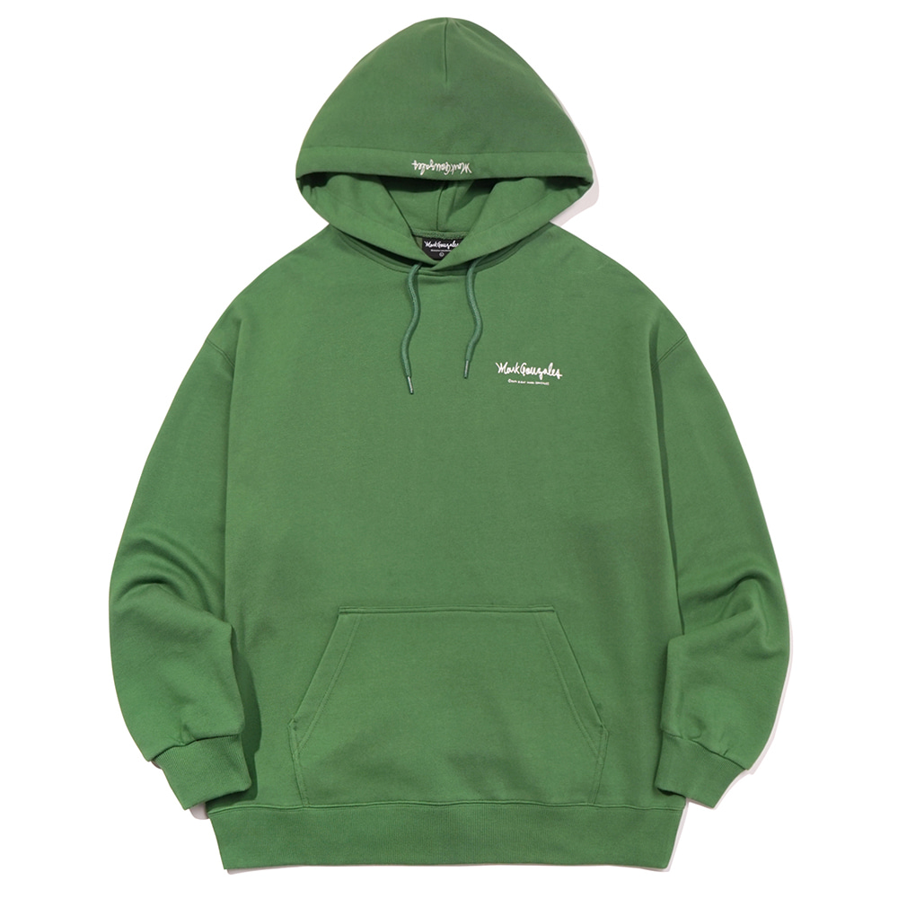 M/G SMALL SIGN LOGO HOODIE OLIVE
