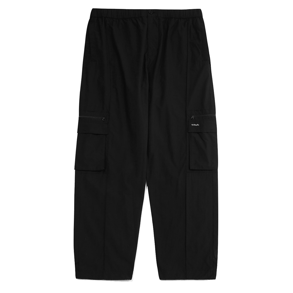 M/G MULTI CARGO PANTS BLACK