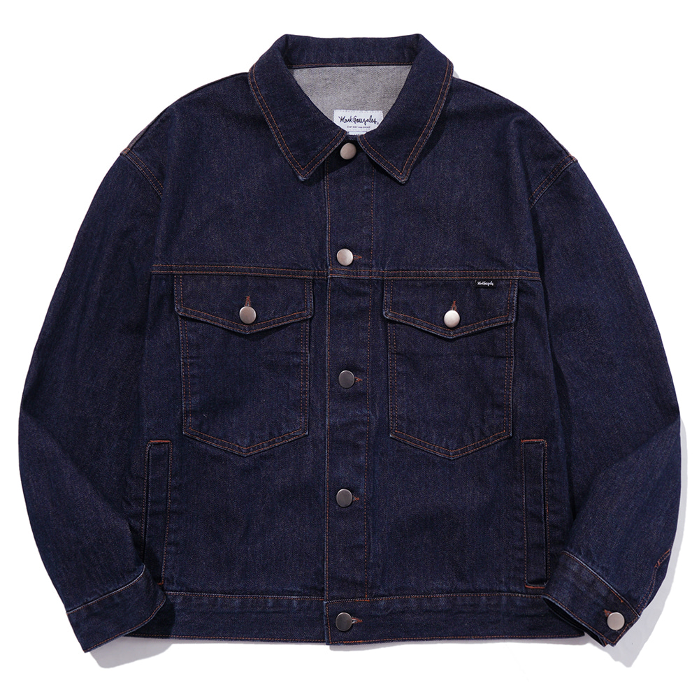 M/G ANGEL DENIM JACKET INDIGO