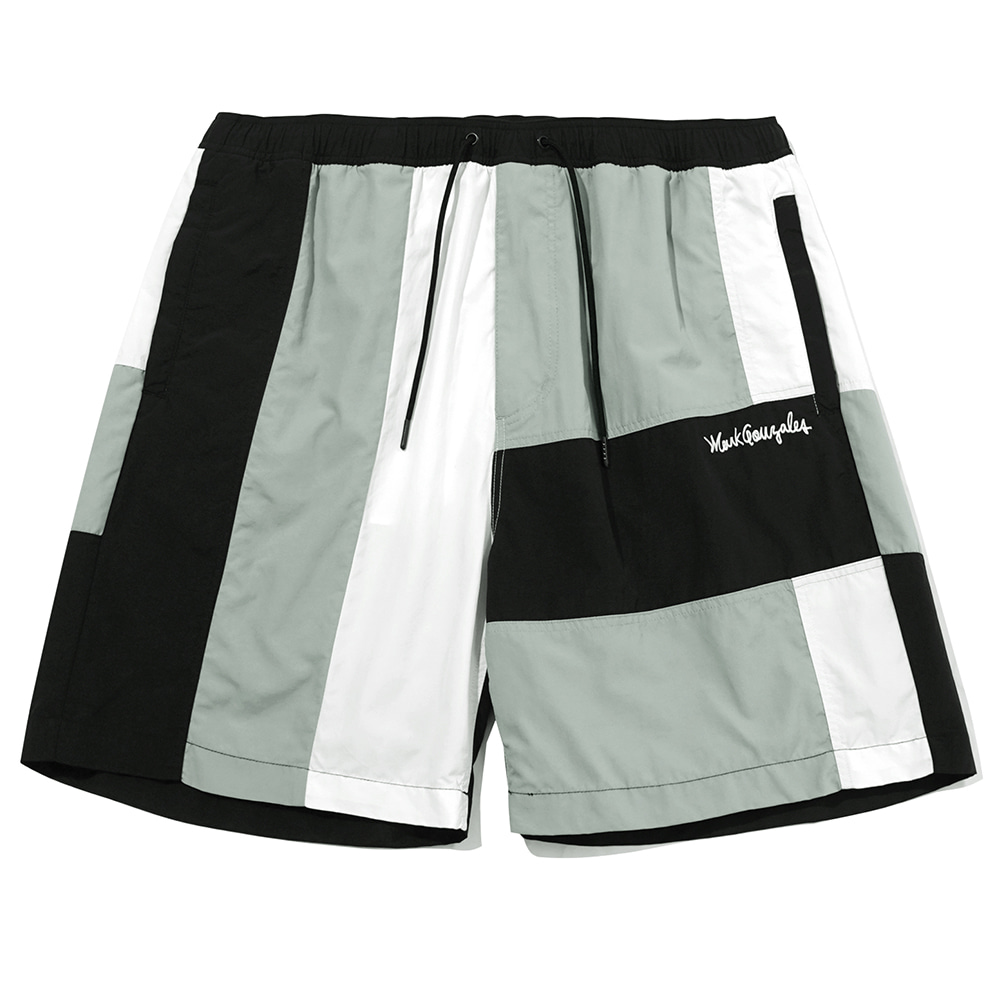 M/G BLOCK SHORTS BLACK