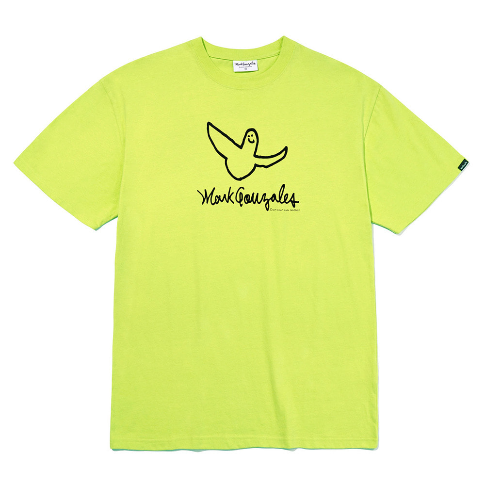 M/G ANGEL LOGO T-SHIRTS NEON