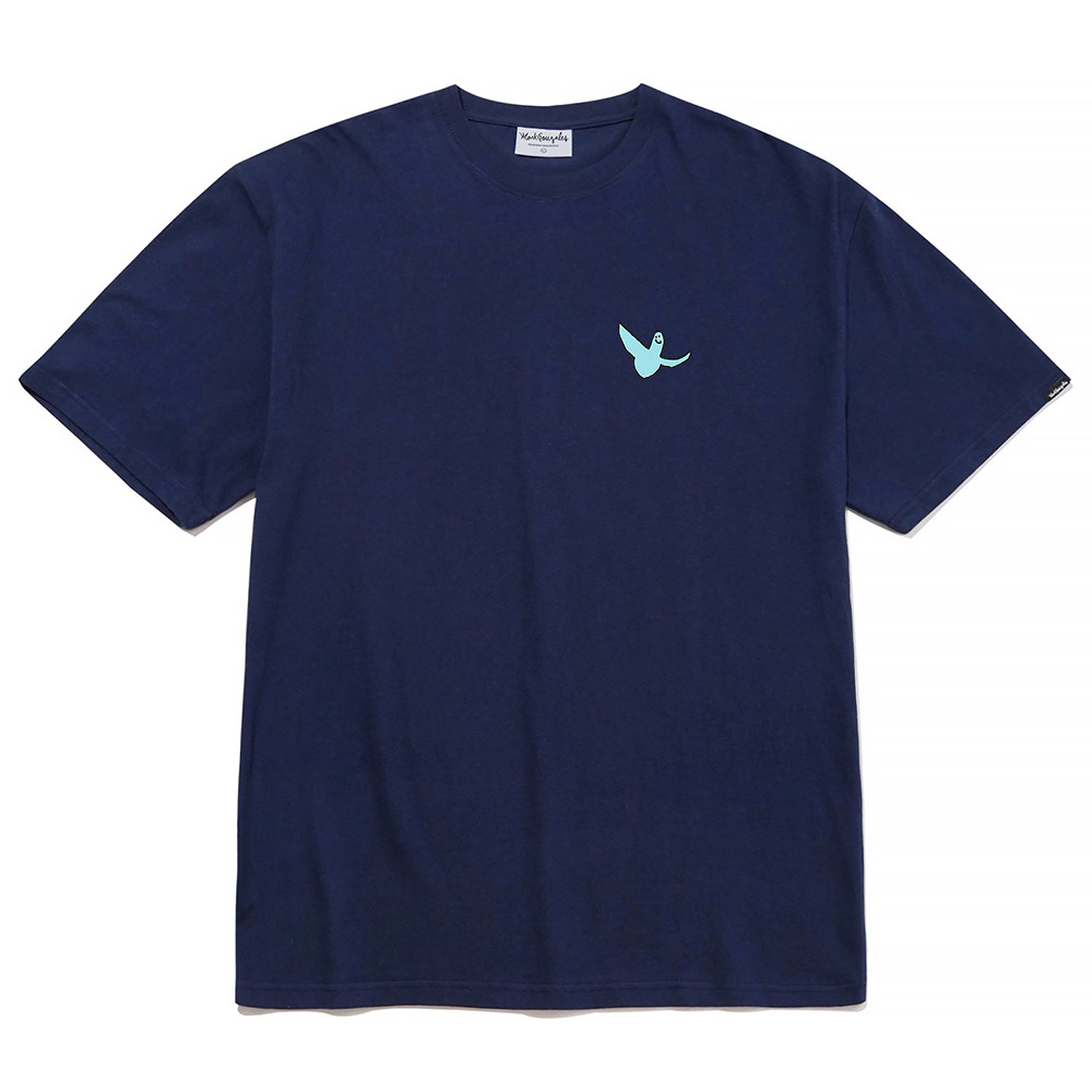 M/G SMALL ANGEL T-SHIRTS NAVY
