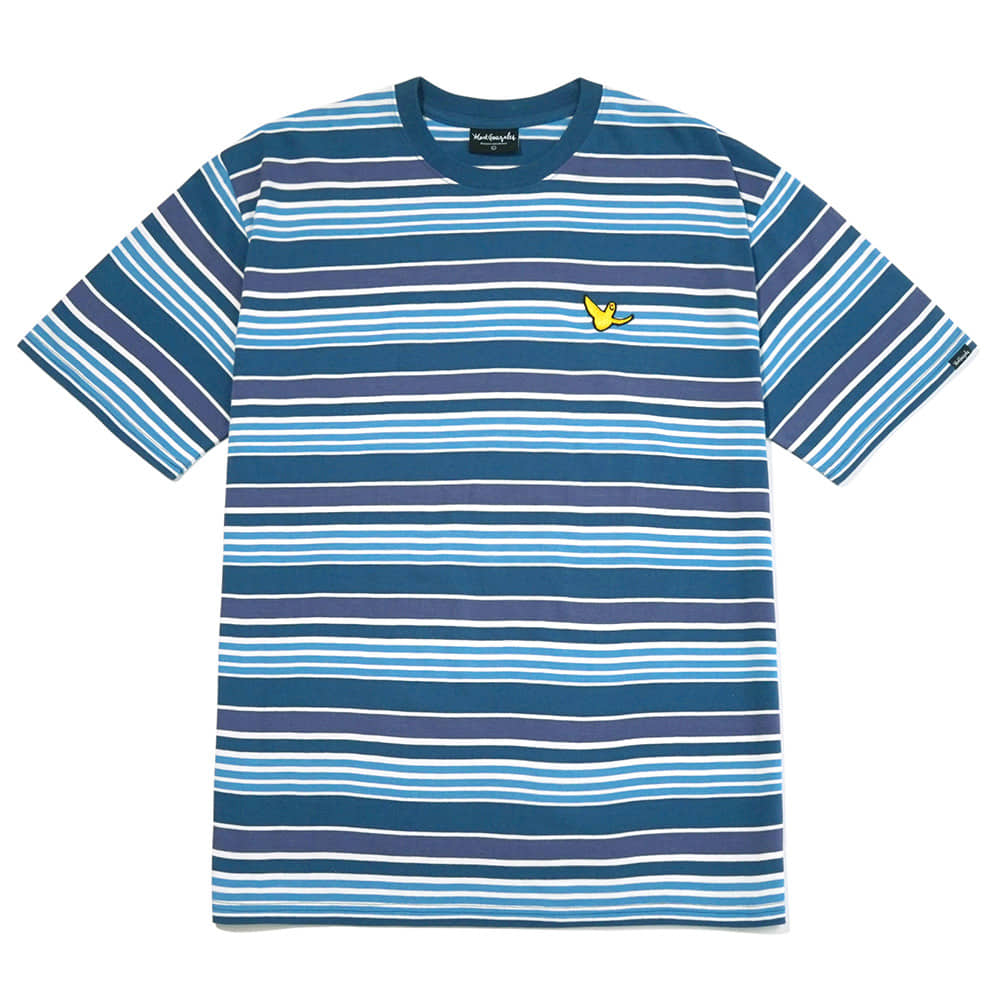 M/G MULTI STRIPE T-SHIRTS BLUE
