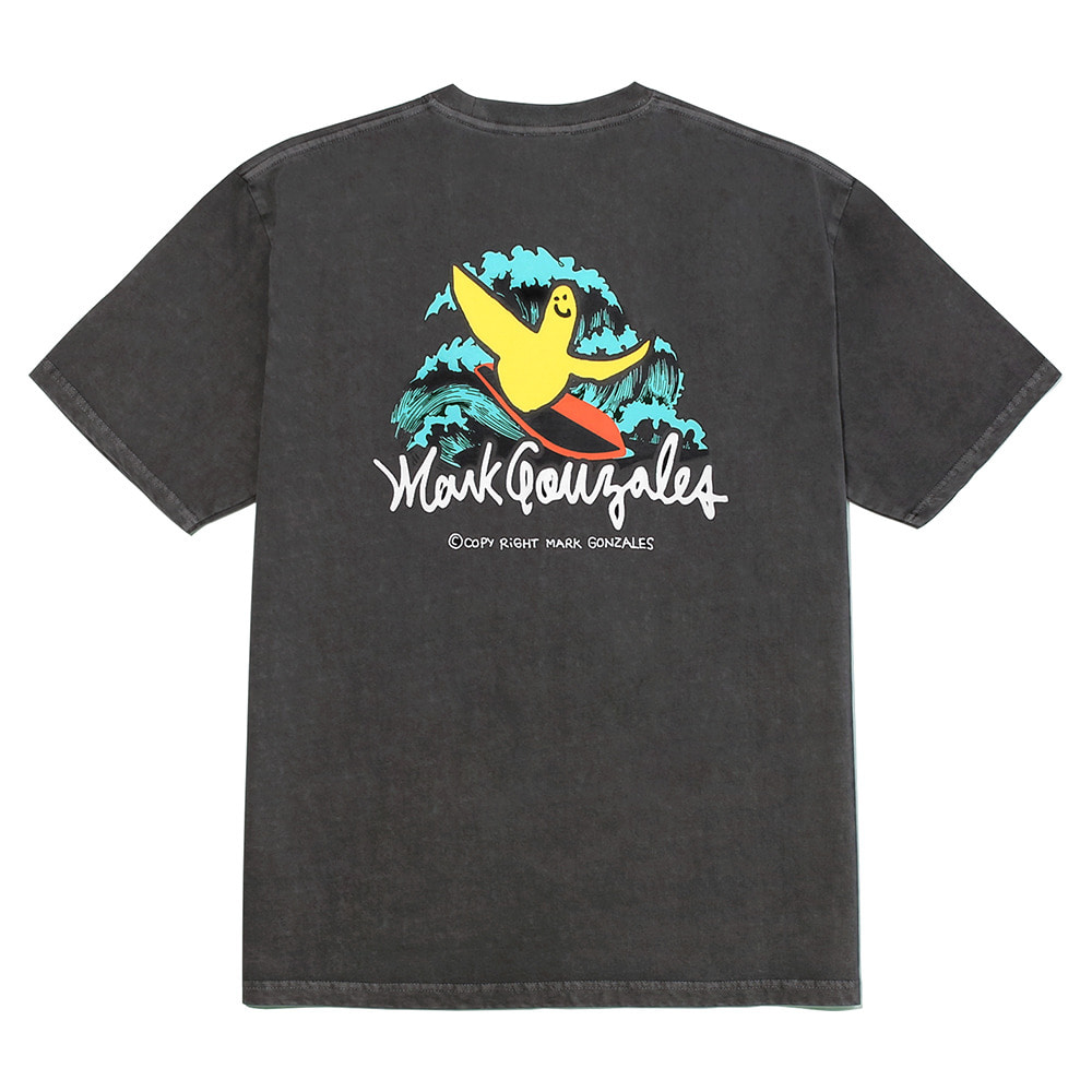 M/G SURFING ANGEL T-SHIRTS CHARCOAL