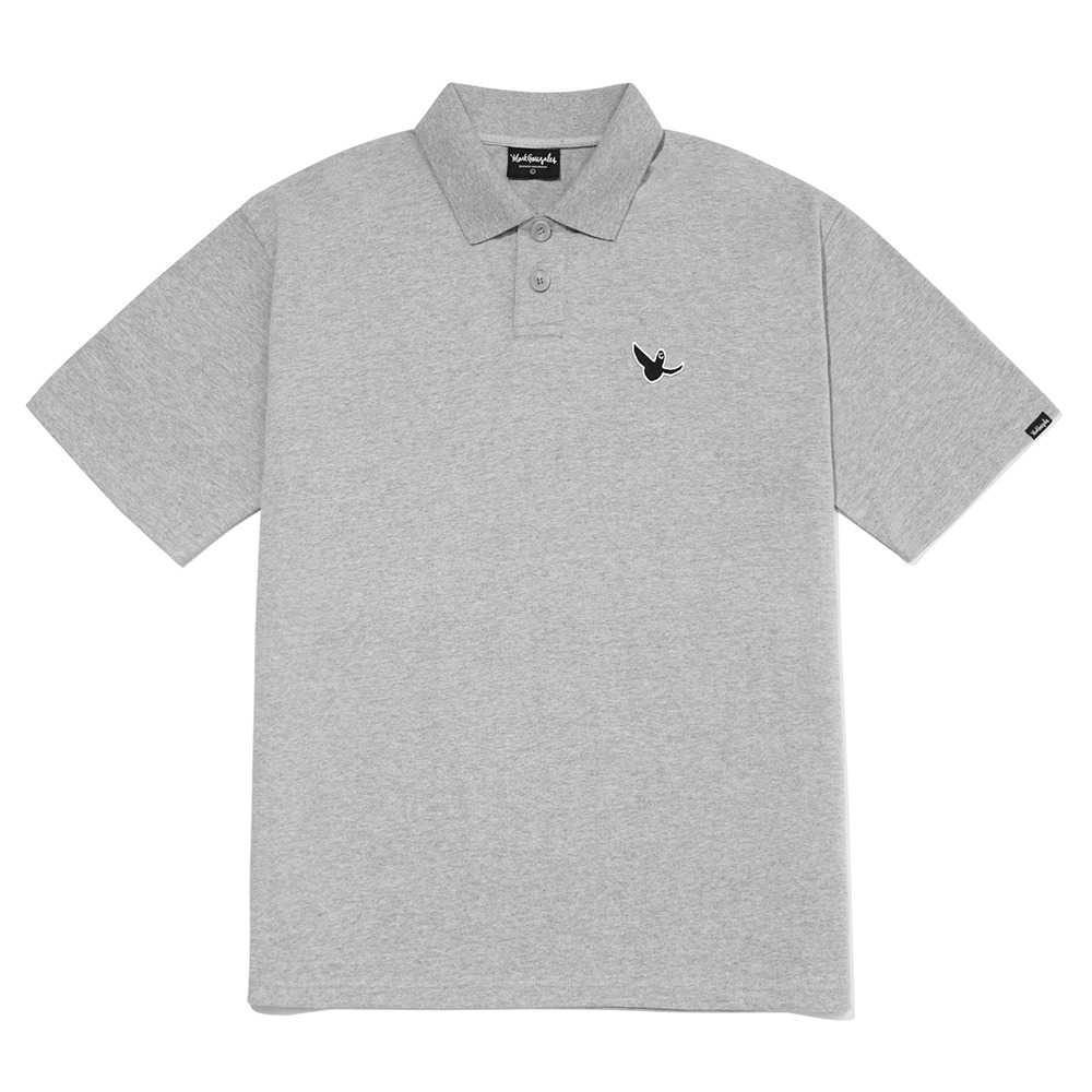 M/G ANGEL PK T-SHIRTS GRAY