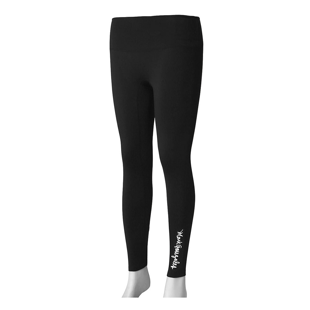 M/G WOMENS SIGN LOGO LEGGINGS BLACK